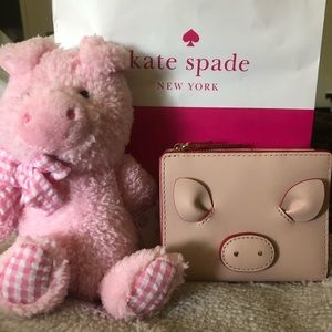 ♠️Kate Spade 🐷Year of the Pig Small Shaun Wallet